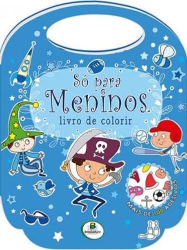 Imagem 1 de 1 de Livro De Colorir - Só Para... Meninos