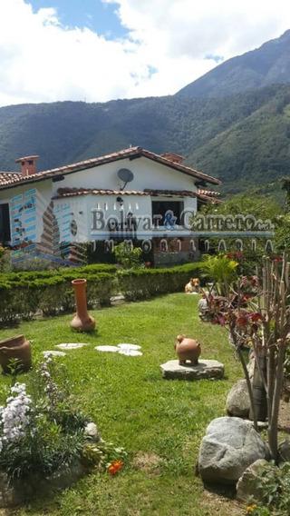 Casa Con Estilo Country En Tabay