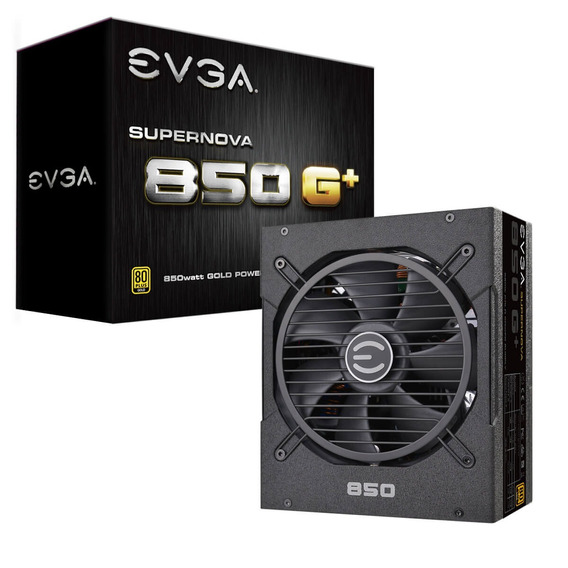 Fonte Evga Supernova 850w G+ 120-gp-0850-x1 Atx 80+ Gold