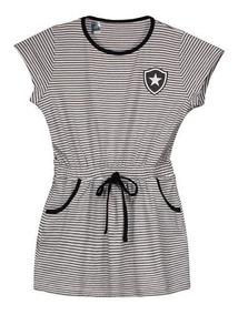 Vestido Botafogo Noob Infantil