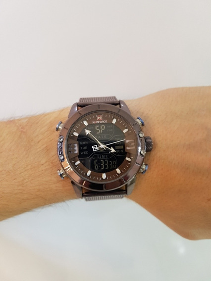Relógio Naviforce Pronta Entrega
