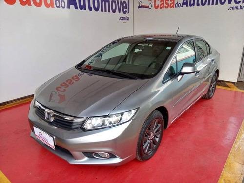 Imagem 1 de 9 de Honda Civic 1.8 Lxs 16v Flex 4p Automático