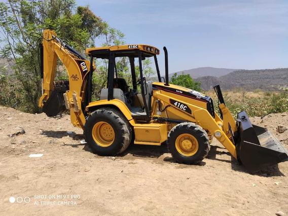 Retroexcavadora Caterpillar 4x4 Y Extensión 416c Importada