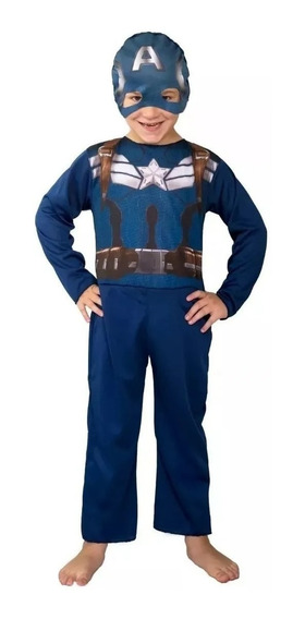 Disfraz Capitan America Orig New Toys Talle 1 Random Comics