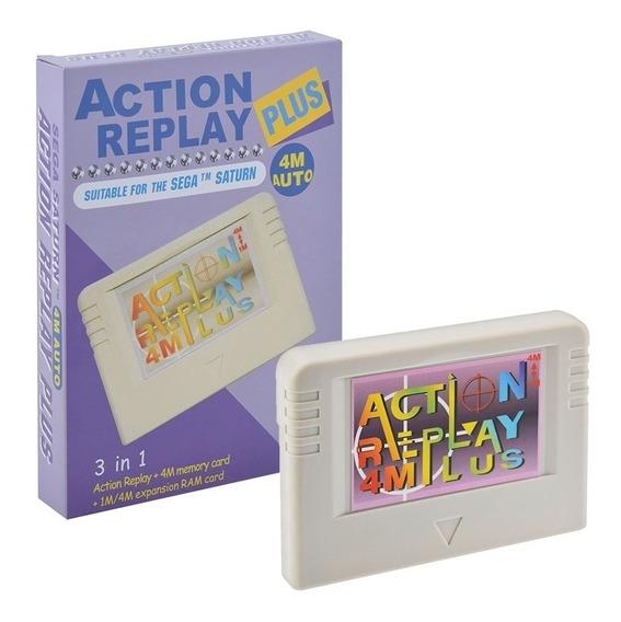 Pseudo Saturn Sega Saturn Action Replay 4mb Destravamento