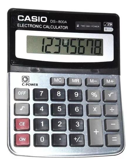 Calculadora Original Casio Ds 800a 8 Digitos Nueva Bodeguera