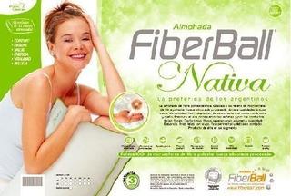 Almohada Fiberball Nativa