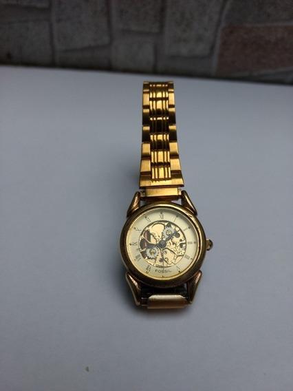Relógio Fossil Esqueleto Quartz