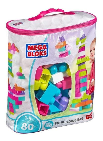 Bolsa Mega Bloks Rosa Fisher Price