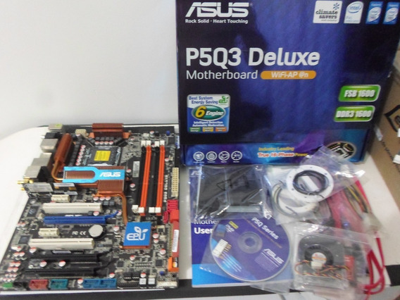 Kit Cpu Q9550 12mb Cache 8gb Ddr3 Mobo P5q3 Deluxe