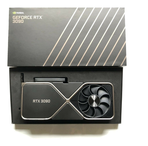Nvidia Geforce Rtx 3090 Founders Edition Tarjeta Gráfica