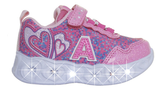 Zapatillas Addnice Moda Baby Corazon Bebe Fu/fu