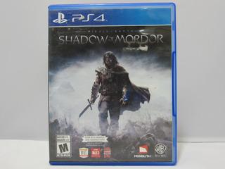 Middle-earth: Shadow Of Mordor - Ps4 ¡fisico-usado!
