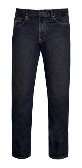 Aeros7 Pantalones Jeans Mezclilla Algodon Basicos 4680391