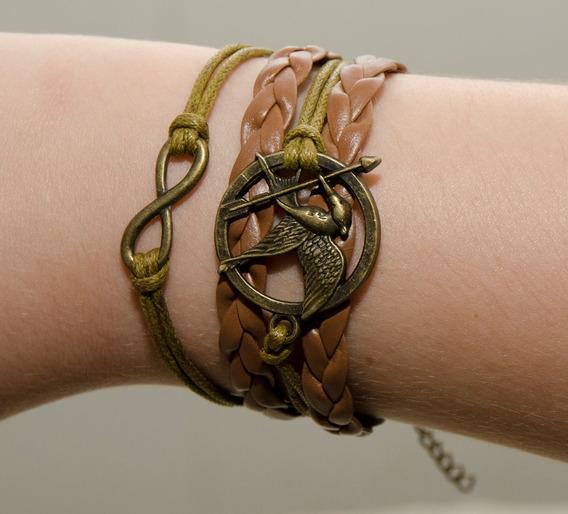 Pulseira Jogos Vorazes (5 Unidades) Tordo Hunger Games