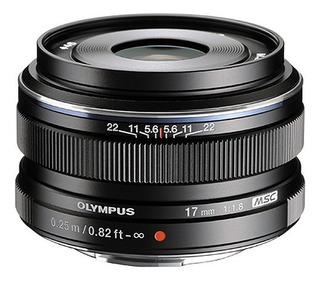 Lente Olympus M.zuiko Digital Macro 17mm F/1.8 Black