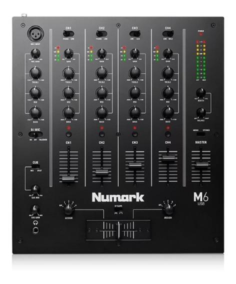Mixer Numark M6 Usb 4 Canais M6usb