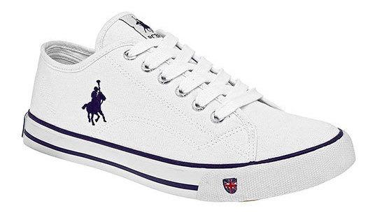 Polo Club Sneaker Urbano Textil Mujer Blanco Btk52098