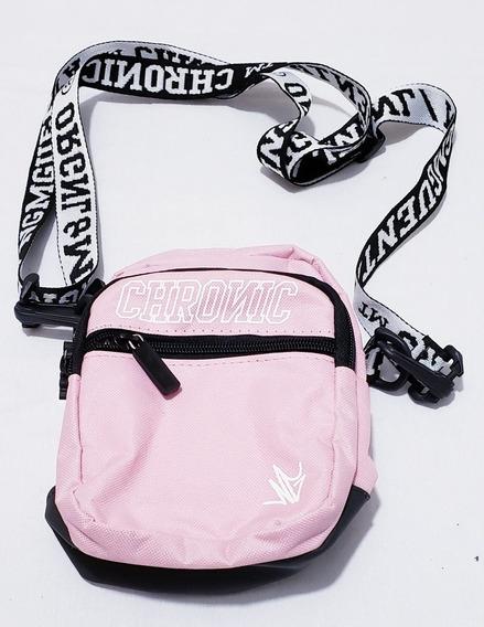 Shoulder Bag Chronic Pink 2 Compartimentos Frontais !!!