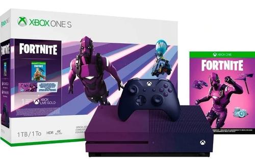 Consola Xbox One S Microsoft 1 Tb Fortnite Battle Royale