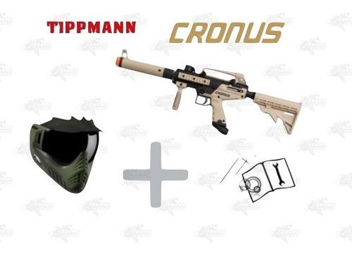 Imagen 1 de 2 de Marcadora Tippmann Cronus Tactical+careta Vforce Cobra Xtrmp