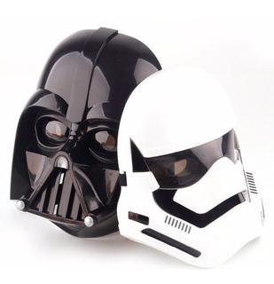 Kit 2 Mascaras Star Wars Darth Vader E Soldado Stormtrooper