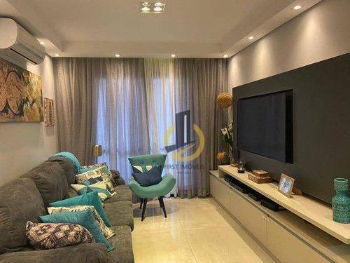 Imagem 1 de 22 de Apartamento De 96 Mts² 3 Dorms 1 Suite Sacada Piscina Na Melhor Região Da Mooca No Condominio Salvador Scarpelli - Ap1826