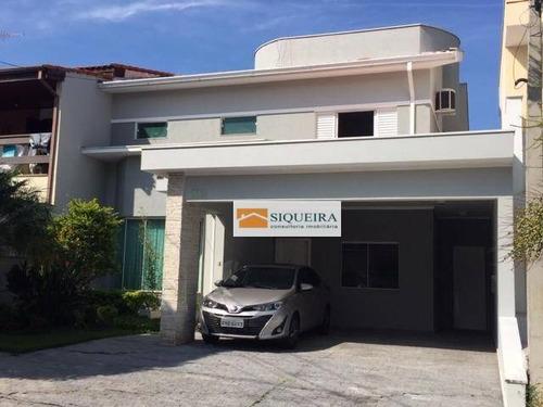 Imagem 1 de 15 de Granja Olga 2 - Sobrado Com 3 Dormitórios À Venda, 258 M² Por R$ 1.200.000 - Condomínio Granja Olga Ii - Sorocaba/sp - So0017