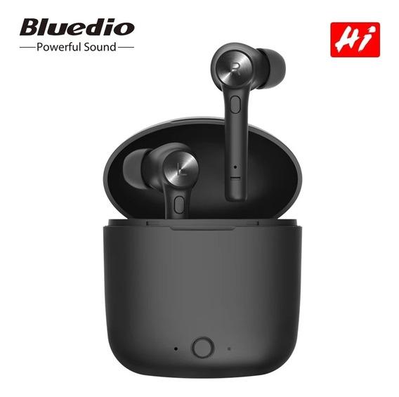 Fone De Ouvido Bluedio Hi Tws Bluetooth Sem Fios Esporte Mic