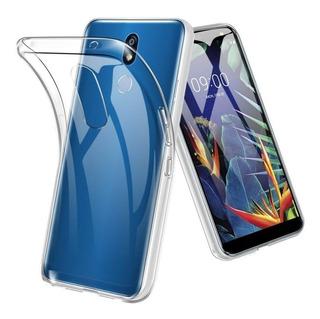 Funda Tpu Ultra Slim Soft Touch Reforzada Para Lg K40 K12 + Vidrio Templado Gorila Glass