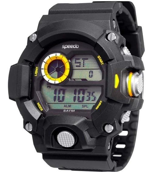 Relógio Speedo Masculino Preto Esportes Barato 81091g0egnp2