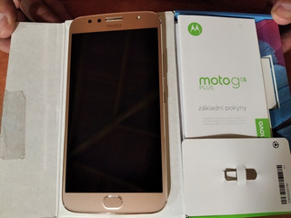 Teléfono Motorola G5s Plus. Desbloqueado. Usado. Buenas Cond