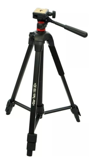 Tripé Vira Monopé Hama Star Twin 150 3d 4 Kg Para Foto