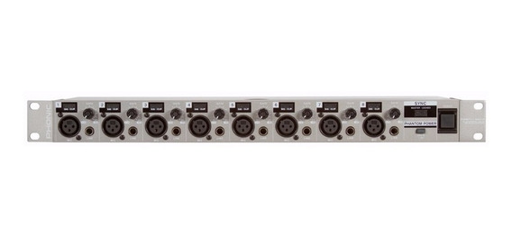 Pré Amplificador P/ Microfones Phonic Firefly Ada8 - Pc0010