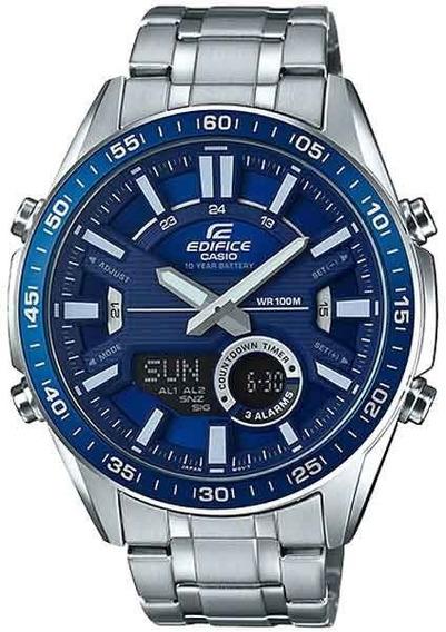 Relógio Casio Masculino Edifice Efv-c100d-2avdf * Telememo 30
