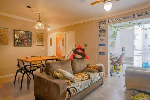 Apartamento Com 3 Dormitórios À Venda, 64 M² Por R$ 440.000,00 - Cursino - São Paulo/sp - Ap43188