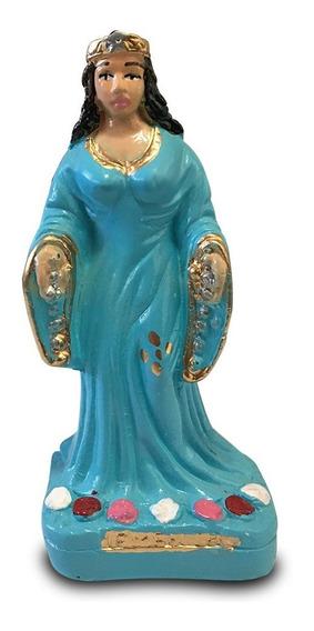 Imagem Yemanja Iemanja Escultura Gesso Estatua 10cm
