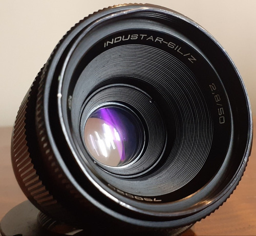 Lente Industar 61 L/z 50mm 2.8 Star Bokeh