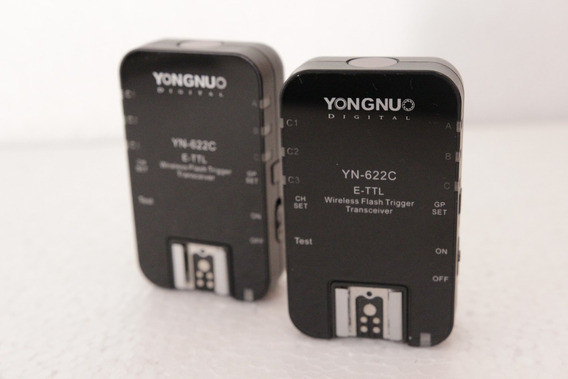 Kit Radio Flash Yongnuo Yn- 622c E-ttl Para Canon