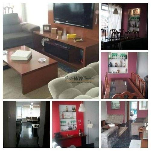 Imagem 1 de 9 de Casa À Venda, 284 M² Por R$ 745.000,00 - Vila Mazzei - São Paulo/sp - Ca0547