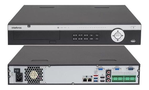 Gravador Digital Vídeo Nvr 24 Canais 4k Nvd 5124-intelbras