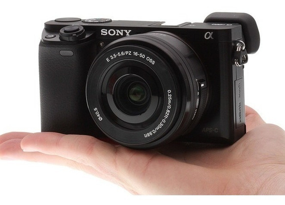 Sony Alpha A6000 Montura E - Kit 16-50mm - 24.3mp 1080p