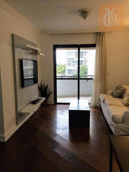 Apartamento Com 3 Dormitórios À Venda, 91 M² Por R$ 1.080.000,00 - Vila Madalena - São Paulo/sp - Ap2073