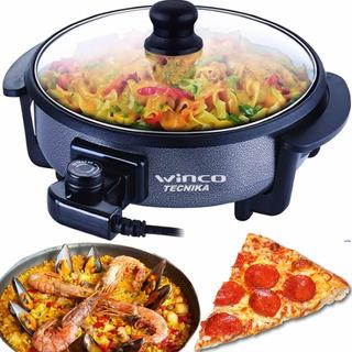 Multicocina Electrica Winco W-52 Paellera Pizzera Horno Olla