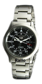 Relógio Seiko Estilo Militar Automático Snk809 Snk809k1 Top!