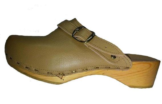 Zapatos Suecos Suela De Madera Ortopedicos Precio Remate