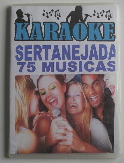 Dvd Karaokê Sertanejada Clássicos Sertanejos 75 Músicas