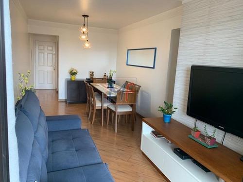 Imagem 1 de 17 de Ref- 13.433 Excelente Apartamento Localizado No Bairro Tatuapé, 79 M² De Área Útil, 3 Dormitórios, Sendo 1 Suíte, 1 Vaga De Garagem. - 13433