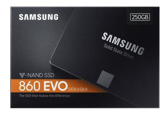 Ssd 250gb Samsung 860 Evo 2.5 Sata3 550mb/s Lacrado