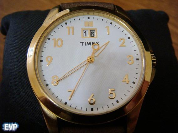 Atractivo Reloj Timex Quartz. Tamaño Grande Ø42mm.